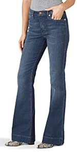 Wrangler Retro High Rise Trouser Jean
