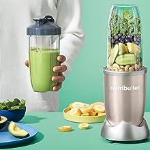 NutriBullet 900W Lifestyle Ingredients Blending Extracting