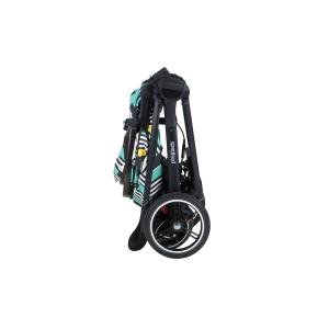 compact stroller fold