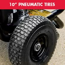 10 - inch pneumatic tires