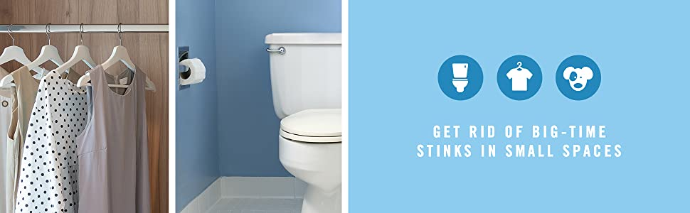 Get rid of big-time stinks in Small Spaces