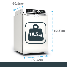 Amazon.es: Bluefin Mini Nevera Congeladora Trivalente de absorción ...
