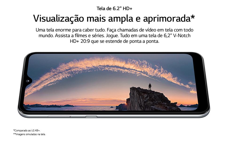 Tela 6.2 HD