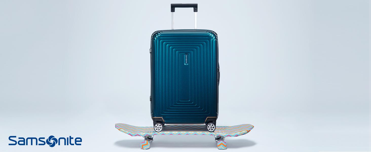 samsonite; neopulse; valise; spinner; valise 4 roues; fabrique en europe; legerete; bagages