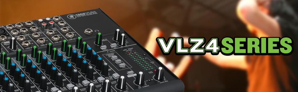 Mackie VLZ4 Series Mixers