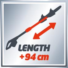 Extension jusqu'à 94 cm