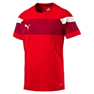 PUMA Herren T Shirt Spirit II Training Jersey Trikot, Black