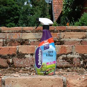 Defenders Ant Killer Spray Fast Acting Treatment To Control Insects Like Ants And Woodlice In Homes Patios And Gardens Treats Up To 35 Sq M 750 Ml Amazon Co Uk Garden Outdoors