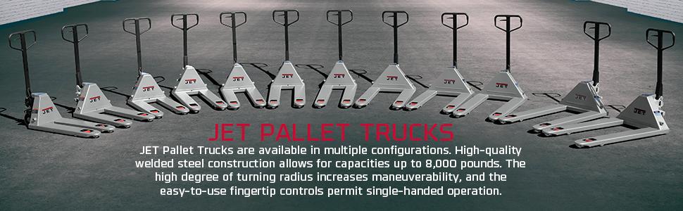 JET Pallet Jacks Trucks