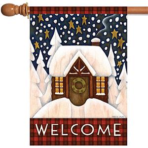 flagpole;flag pole;flag holder;flag hanger;top sleeve;flag arbor;holiday;wreath;christmas;trees