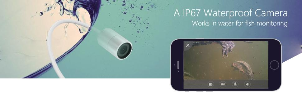 Titathink TT522PW IP67 waterproof for working underwater and fish monitoring