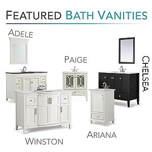 Wonderful Featured Bath Vanities At Simpli Home