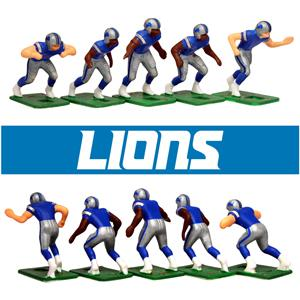 Tudor Games Detroit Lions Dark Uniform NFL Action Figure Set  Amazon ... b531d2f0b