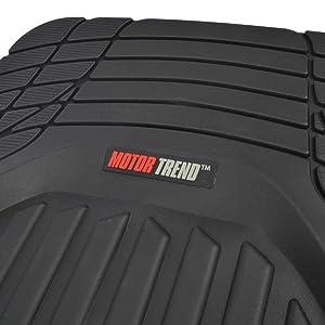 Amazon.com: Motor Trend, Tortoise Series, tapete de goma ...