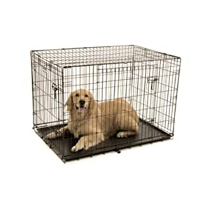 """Petmate """"ProValu"""" Wire Dog Crate, Two Doors, Precision Lock System, 6 Sizes"""