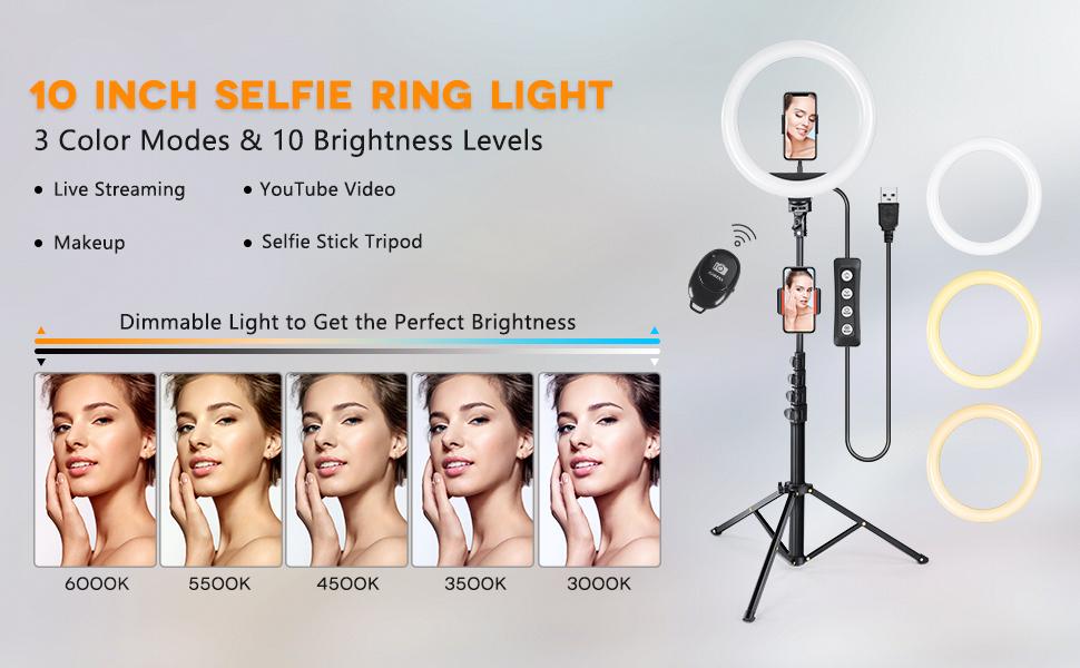 ring light,selfie lights