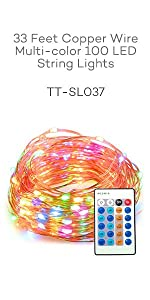 Starry String Light, Star Light,led string light, rope light, holiday decoration,