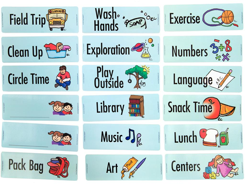 Easy-Daysies Family/Extracurricular Activities Accessory Pack, Use ...