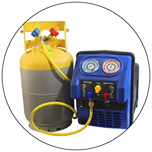 30 lb dot tank refrigerant recovery mastercool