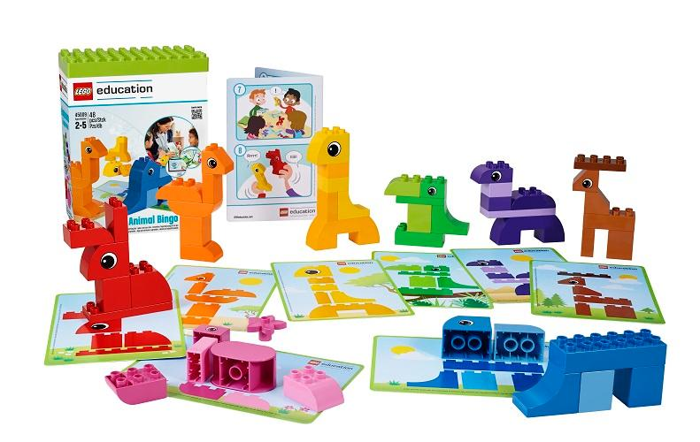 Amazon.com: Animal Bingo Game for Shape and Color Recognition by ...