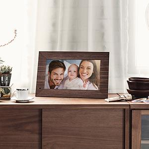 NIX Lux Digital Photo Frame 8 inch X08F, Wood. Electronic Photo Frame USB SD/SDHC. Digital Picture Frame with Motion Sensor. Control Remote and 8GB USB Stick Included 21