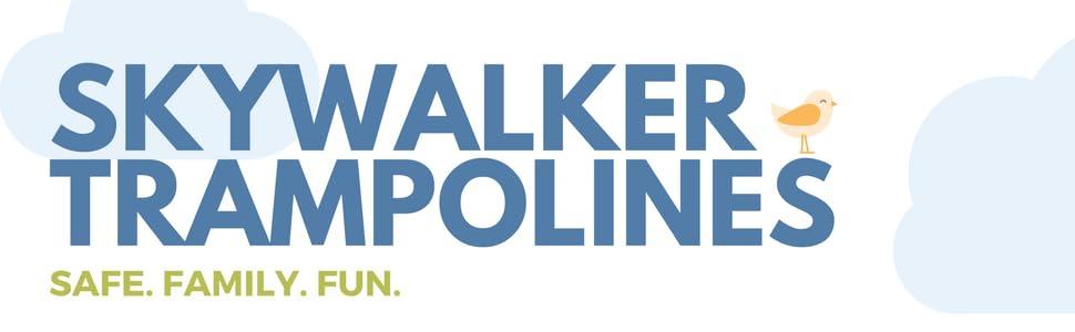 skywalker,trampolines,trampoline,rectangle,blue,safety,enclosure,net,springs,best,gymnast