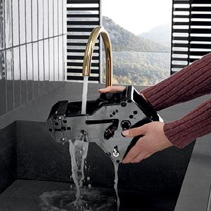 Miele CM 5300 coffee machine, Cleaning Bew Unit