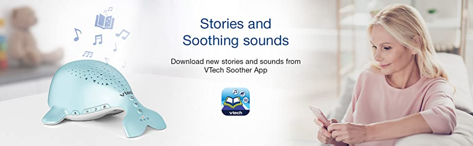 Stories and soothing sounds, download new stories and sounds
