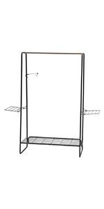 metal clothing hanger, accessories shelf, coat hanger stand, coat metal stand, coat hanger hallway