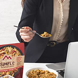 Eat Simple Sensations at work.