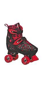 Trac star quad roller skates
