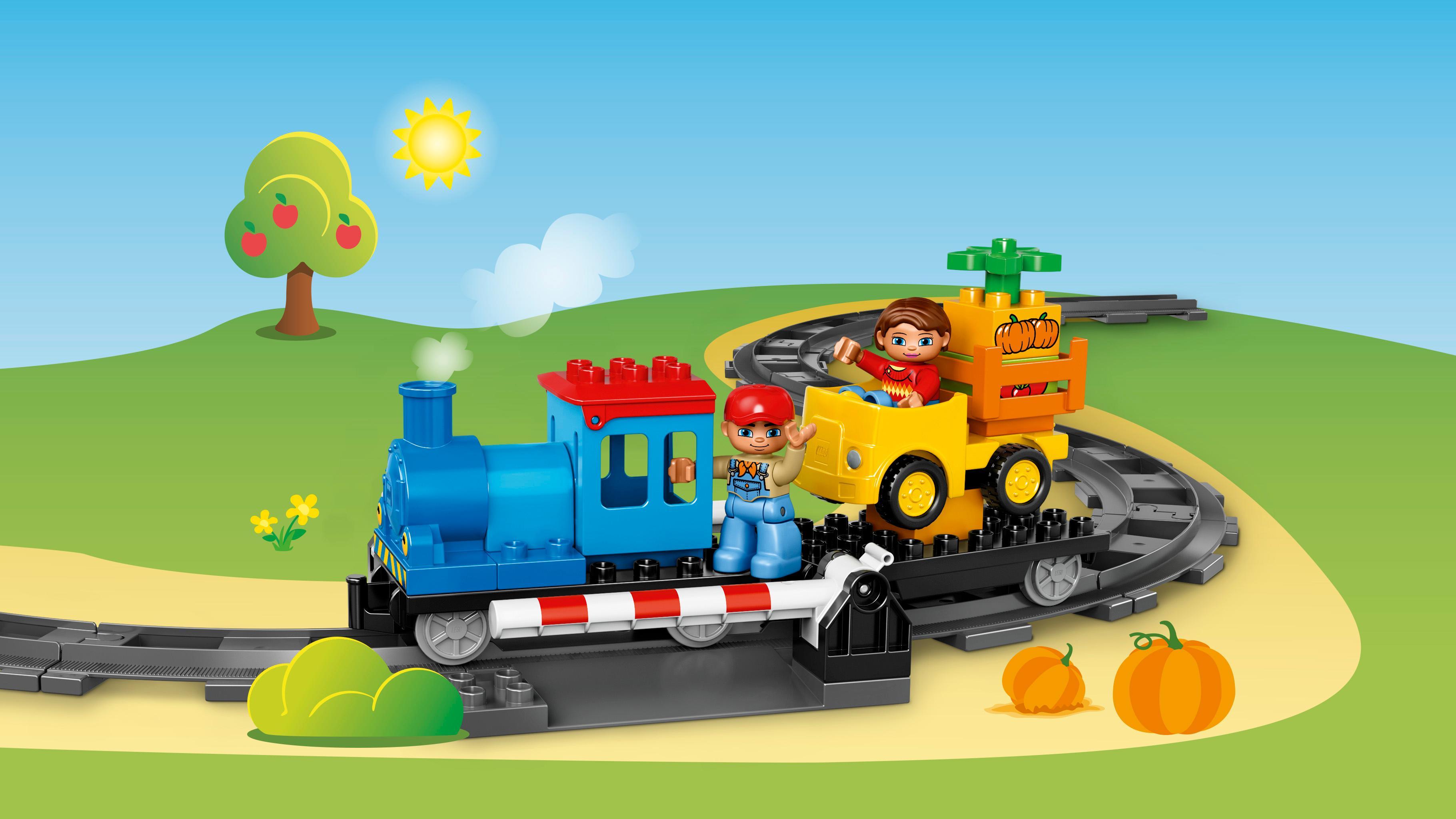 LEGO Duplo 10810 - Schiebezug, Zug Spielzeug: Amazon.de