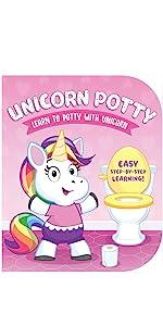 unicorn potty book potty training for girls