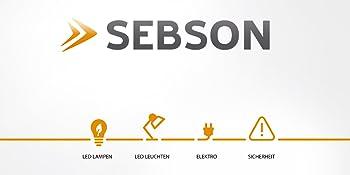 LED Leuchtmittel lampen leuchten SEBSON spielgelleuchten spiegellampe schrankleuchten wandmontage