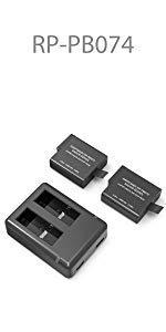 RAVPower Camera Batteries for GoPro Hero 5/6 Black