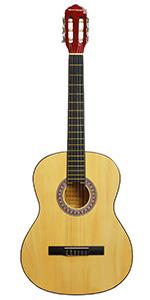 Rocket XF201CN XF Serie - Guitarra española clásica, 94 x 41 x 10 ...