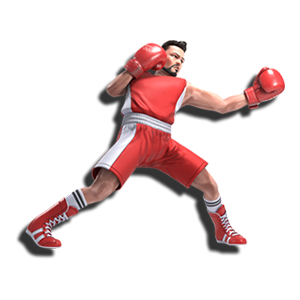 オリンピック ボクシング ノックアウト ダウン グローブ パンチ ジャブ フック ストレート
