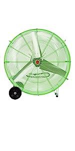 oscillating fan wall mount; big fan for garage