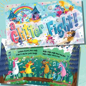 A Glitter Fight