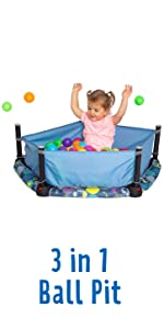 3 in 1 Ball Pit