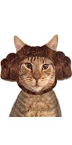 Princess Leia buns