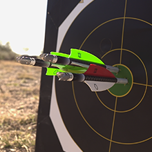 TenPoint Nitro XRT crossbow is 25% more accurate than competing crossbows.