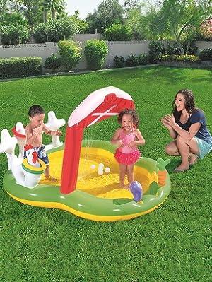 Piscina Hinchable Infantil Bestway Lil Farmer Play Center 175x147x102 cm