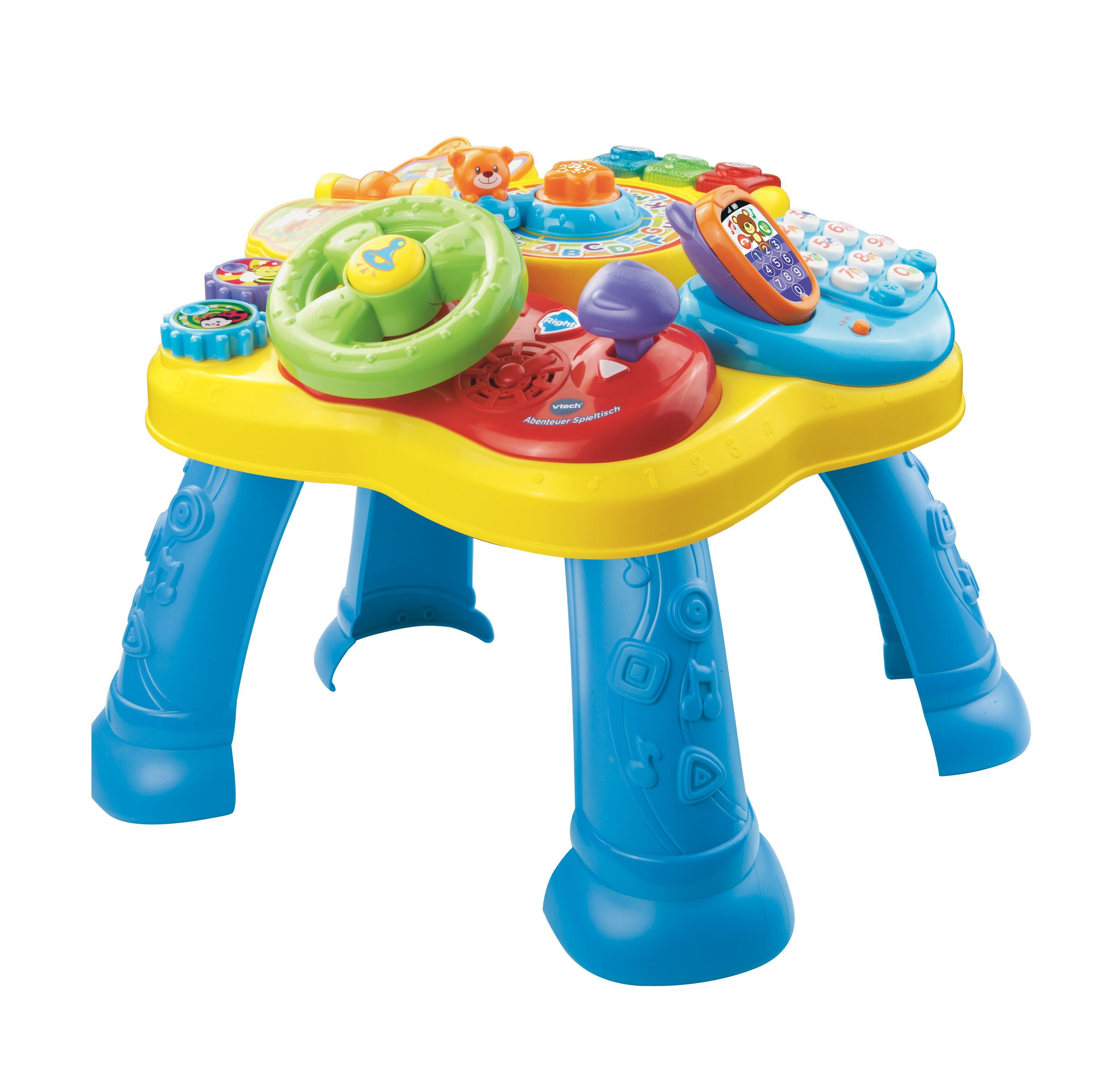 Spielzeug Für Babys : vtech baby 80 181504 abenteuer spieltisch ~ Watch28wear.com Haus und Dekorationen