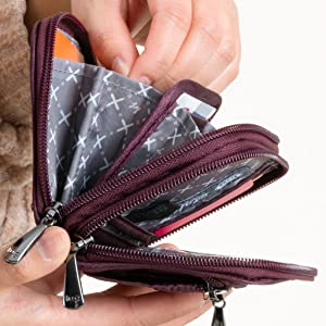 wallet, wallet with card slots, organized wallet