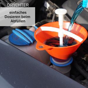 einfaches Dosieren mit Drychter