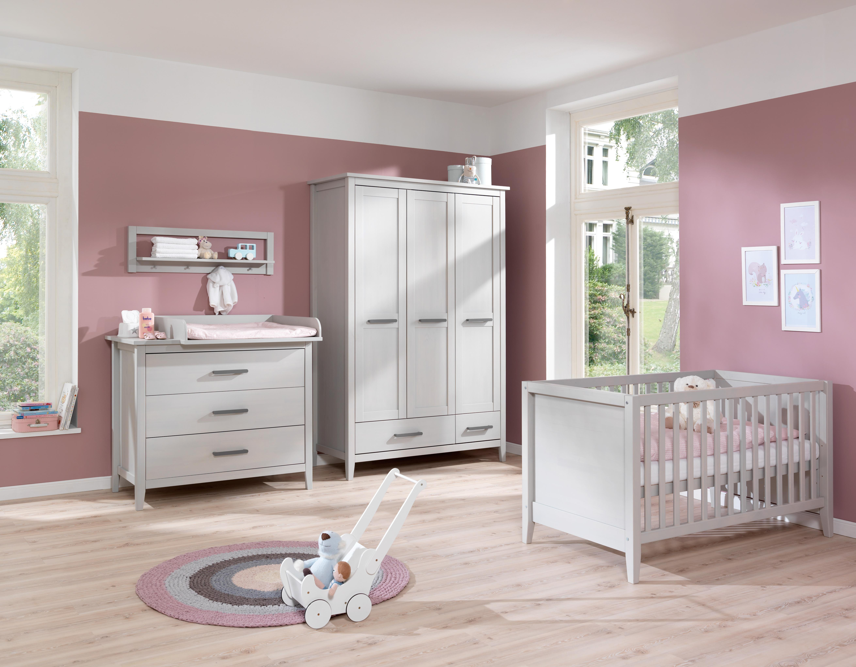 Wellemöbel Babyzimmer Sylt, 2er-Set Juniorbettseiten, mit Öhrchen ...