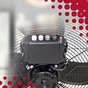 Ufesa ff0450 - ventilador de suelo, 45cm diámetro, potente flujo ...