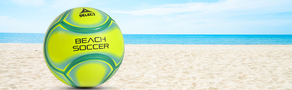Jaune Sélectionnez Sport Amérique Beach Soccer Ball Taille 5