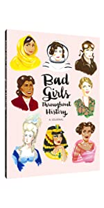 feminist, bad girls, blank journal
